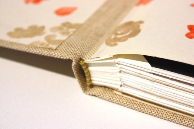 foto album, losse foto's, shrigley, preeg, natuurlinnen, boekbinden, boekbinder, handgemaakt, zuurvrij papier
