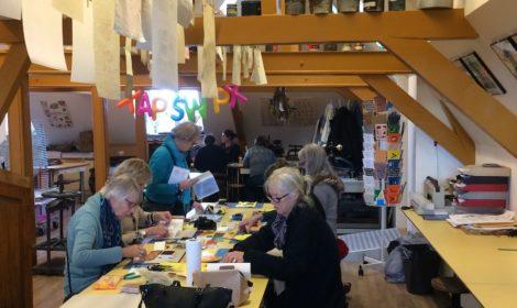 workshop, boekbinden, museum, boekjes maken, handboekbinden